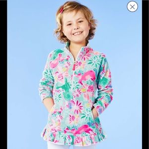 Lilly Pulitzer magical Mary unicorn 🦄 popover XL